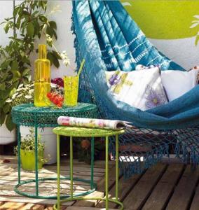 Cama de rede de verão